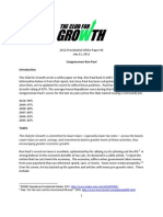 Club for Growth White Paper on Paul