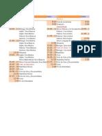 Cronograma Centro de Alumnos