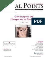 Gonioscopy Focal Points
