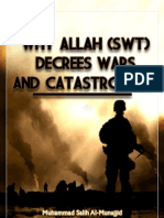 Why Allah Swt Decrees Wars
