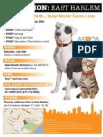 ASPCA Spay/Neuter Event