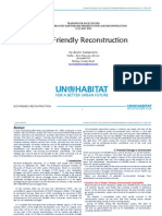 Eco-Friendly Reconstruction UN Habitat - Arwin Soelaksono