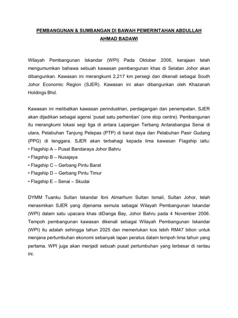 Tun Abdullah Haji Ahmad Badawi