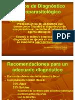 Metodos de Diagnostico Coproparasitologico