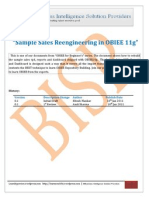 Sample Sales Re Engineering in OBIEE 11g Part I