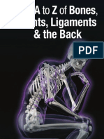 The A to Z of Bones, Joints and Ligaments and the Back