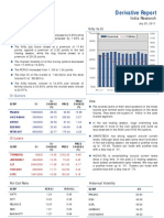 Derivatives Report 25th July 2011