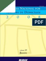 IBGE - BRASIL PNAD 2008