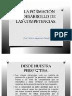 De La Formacion Al Desarrollo de Las Competencias