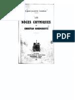 [Rose-Croix][Christian FR Les Noces Chymiques