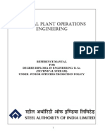 General Plant Operation Engg