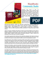 Handbook on Community Radio in Bangladesh