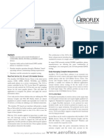 AeroFlex Mobile Service Tester