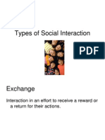 11 Types of Social Interaction