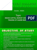 Indian Capital Market and Online