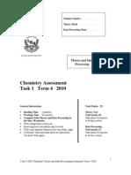 2010 JR HSC Chemistry Term 4