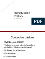 MySQL Presentacion