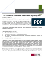 The Conceptual Framework for Financial Reporting 2011