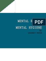 Mental Hygiene