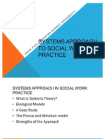 Systems Approach in Social Work Practice