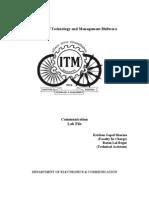 Communication Lab File