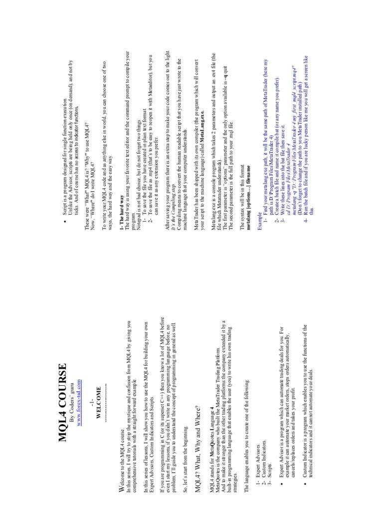 Mql4 Icustom Example