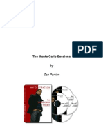 Zan Perrion - The Monte Carlo Sessions Vol 1 and Vol 2 Notes