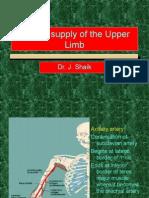 Blood Supply of the Upper Limb