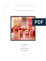 Half Life Dice Simulation Lab Report
