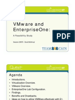 Collaborate 07 23870 VMWare Enterprise One a Feasibility Study