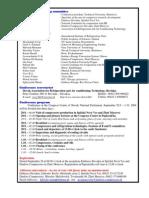 Compressors 2004 - Program