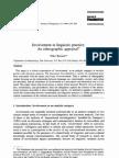 Besnier Involvement Linguistic Practice
