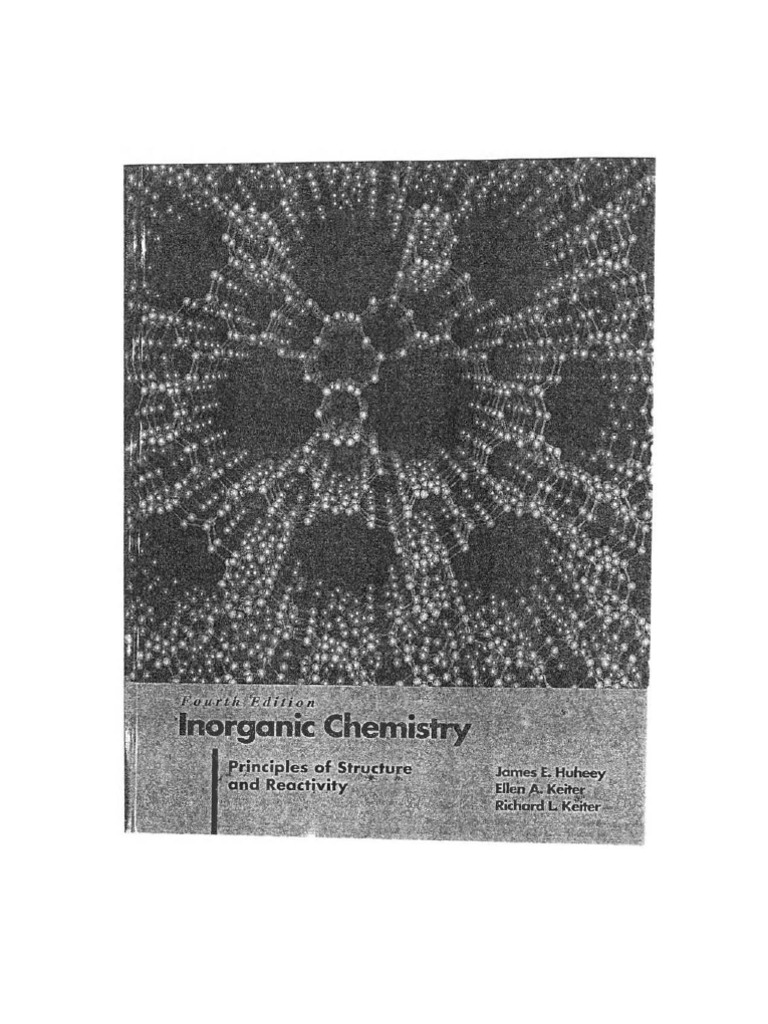 Inorganic chemistry principles of structure and re activity john inorganic chemistry principles of structure and re activity john huheey 4th edition chemical bond coordination complex fandeluxe Choice Image