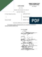 US Bank NA v Kimball Joseph Supreme Court Opinion