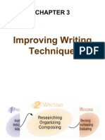 Improving Writing Techniques