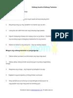 Salitang Inuulit at Salitang Tambalan (7 Worksheets)