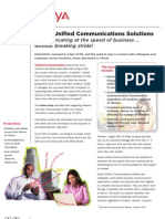 Unified Communications Family Brochure