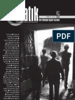 Katık Geri Dönüşüm İşçileri Gazetesi - Sayı 5