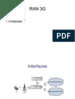 RAN 3G Interfaces+Protocols