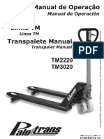 Manual Matrim Paletrans 3020