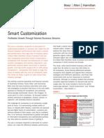 Smart Customization