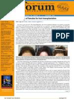 2011 ISHRS Hair Transplant Forum Newsletter