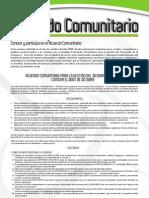 Acuerdo Comunitario para la gestión del desarrollo de la Comuna 6 - Doce de Octubre