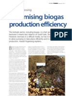 Maxim is Ing Biogas Production Efficiency