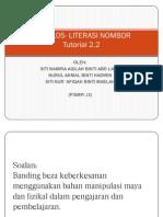 Waj 3105- Literasi Nombor Tutorial 2.2