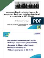 Palestra Banco Do Brasil 20000