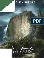 d'Artiste Matte Painting Book