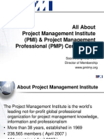 All About PMI & PMP Certification