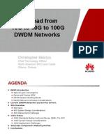 Huawei-10G to 40G to 100G DWDM Networks