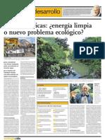 Hidroeléctricas energía limpia o nuevo problema ecológico